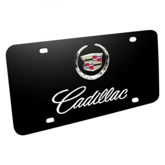 iPickimage® - License Plate with Cadillac Logo and Emblem