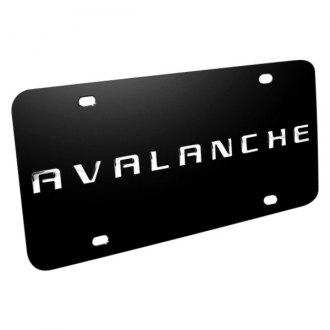 iPickimage® - License Plate with Avalanche Logo