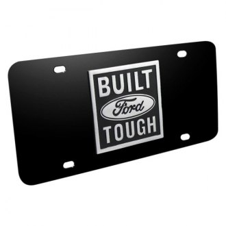 iPickimage® - License Plate with Built Ford Tough Logo