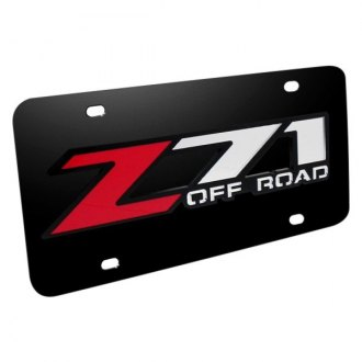 iPickimage® - License Plate with Z71 Offroad Logo
