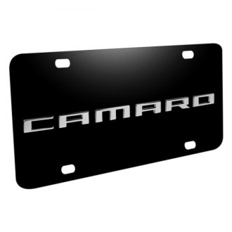 iPickimage® - License Plate with Camaro Logo