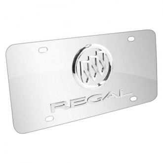 iPickimage® - License Plate with Regal Logo and Buick Emblem