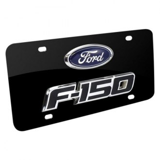 iPickimage® - License Plate with F-150 Logo and Ford Emblem