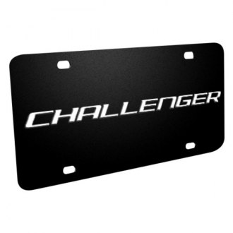 iPickimage® - License Plate with Challenger Logo