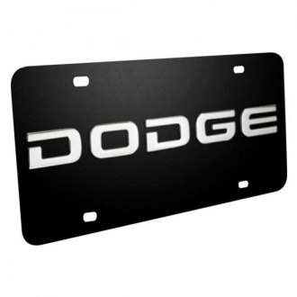 iPickimage® - License Plate with Dodge Logo