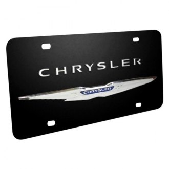 iPickimage® - License Plate with Chrysler Logo and Wings