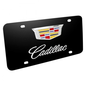 iPickimage® - License Plate with Cadillac New Logo and Emblem
