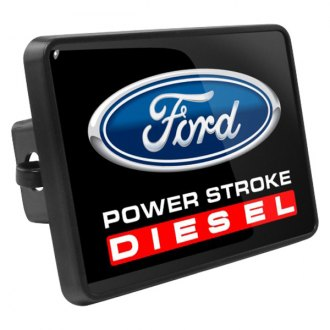 "iPickimage® - Hitch Cover with Ford Power-Stroke Diesel Logo for 2"" Receivers"