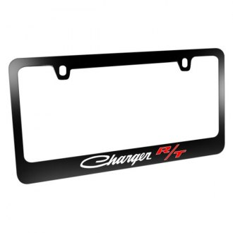iPickimage® - License Plate Frame with Charger R/T Classic Logo