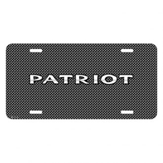 iPickimage® - Mesh Grill Graphic License Plate with Patriot Logo