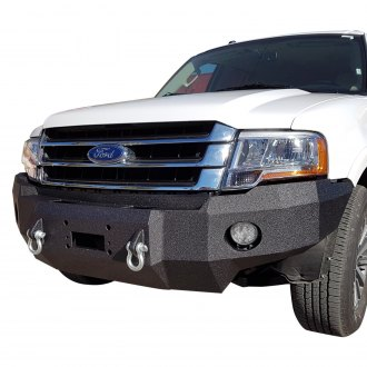Iron Bull Bumpers® - Base Front Winch Black Bumper