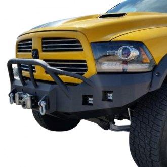 Baja Square X on Aftermarket Bumpers For Dodge Dakota