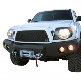 Iron Bull Bumpers® - Full Width Black Front Winch HD Bumper