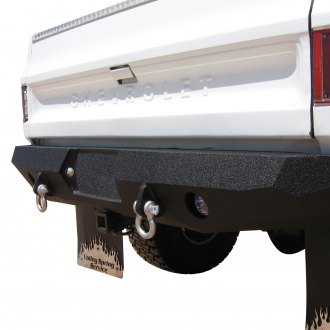 Iron Bull Bumpers® - Base Rear Black Bumper