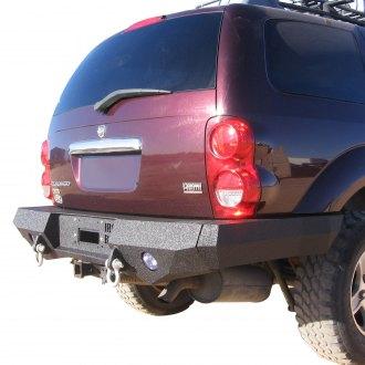 2005 dodge durango off road steel rear bumpers. Black Bedroom Furniture Sets. Home Design Ideas