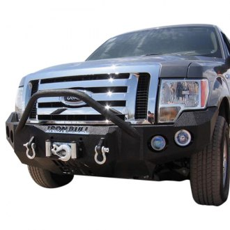 Iron Bull Bumpers® - Pre Runner Series Base Front Winch Black Bumper