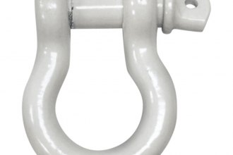 "Iron Cross® 1000-10 - 3/4"" White D-Shackle"