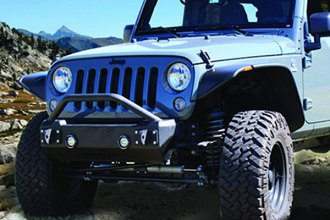 Iron Cross® - Stubby Front Bumper with Push Bar