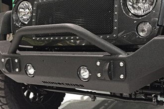 Iron Cross® - Full Size Front Bumper with Push Bar