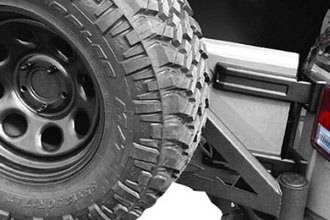 Iron Cross® - Stubby Rear Bumper with Tire Carrier