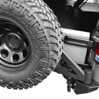 Iron Cross® - Full Size Rear Bumper with Tire Carrier