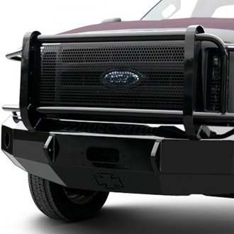 Iron Cross® - HD Series Front Bumper with Grille Guard