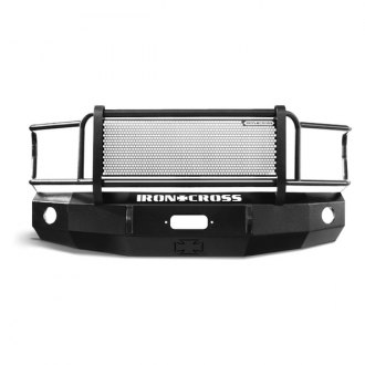 Image may not reflect your exact vehicle! Iron Cross® - Grill Guard Front Bumper