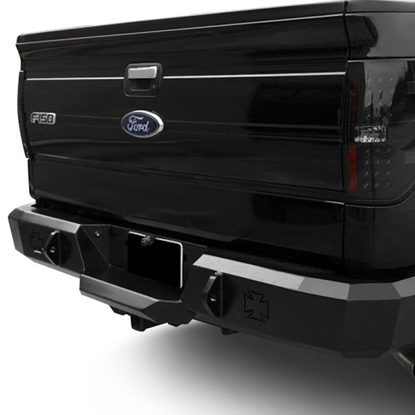 Image may not reflect your exact vehicle! Iron Cross® - HD Series Rear Bumper