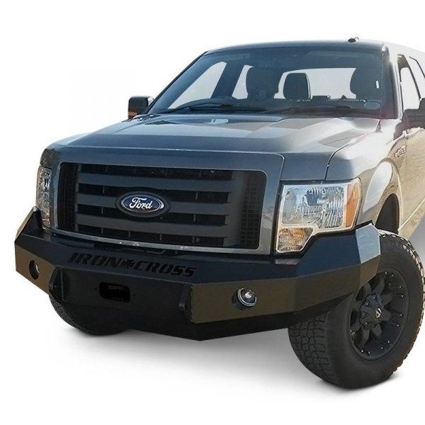 Heavy Duty Front Steel Bumper With Winch Mount Da5645 For: Ford F-150 2010 Heavy Duty Series Full Width