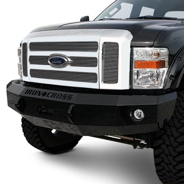 iron cross ford f 250 2008 heavy duty series full width front winch hd bumper. Black Bedroom Furniture Sets. Home Design Ideas
