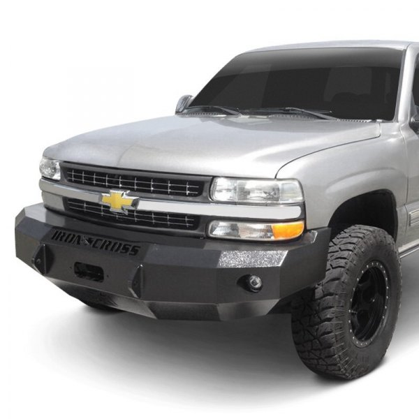 Iron Cross® - Heavy Duty Series Full Width Front HD Black Bumper