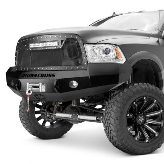 Iron Cross® - HD Series Full Width Front HD Winch Bumper