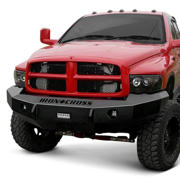 iron cross dodge ram 2003 heavy duty series full width front winch hd bumper iron cross heavy duty series full width front winch hd bumper
