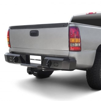 Iron Cross® - Heavy Duty Series Full Width Black Rear HD Bumper
