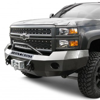 Iron Cross® - HD Series Full Width Front HD Bumper with Push Bar