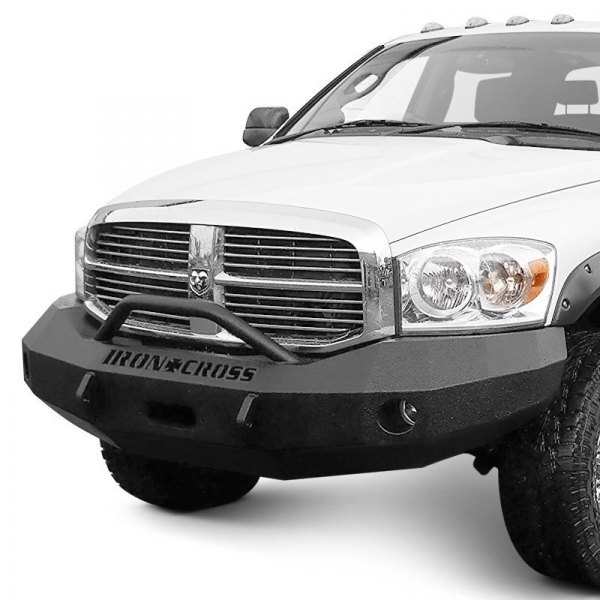 Heavy Front Bumper : Iron cross dodge ram heavy duty series full width