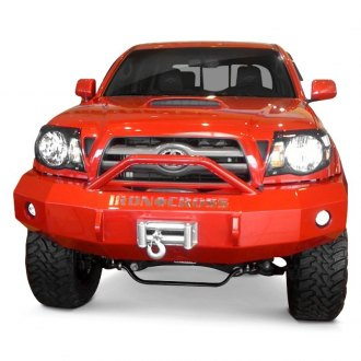 Iron Cross® - Heavy Duty Series Full Width Front Winch HD Bumper with Push Bar