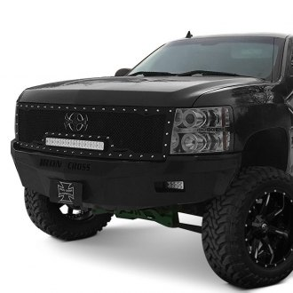Iron Cross® - RS Series Full Width Black Front HD Bumper