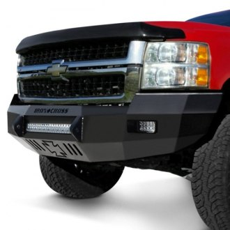 Iron Cross® - Heavy Duty Low Profile Series Full Width Black Front HD Bumper