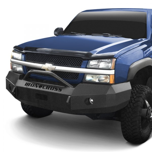 03 Chevy Front Bumpers : Iron cross chevy silverado heavy duty series full