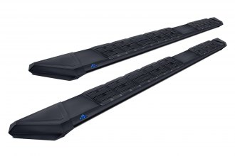 Iron Cross® 718-8280B - Patriot Black Powdercoated Running Boards