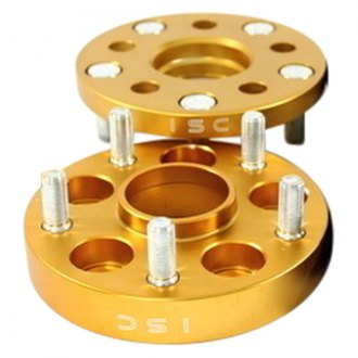 ISC Suspension® - Gold Wheel Adapter Set