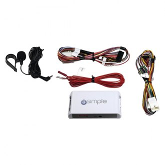 iSimple® - Hands-Free Bluetooth Calling Kit with Audio Streaming for Select Smartphones