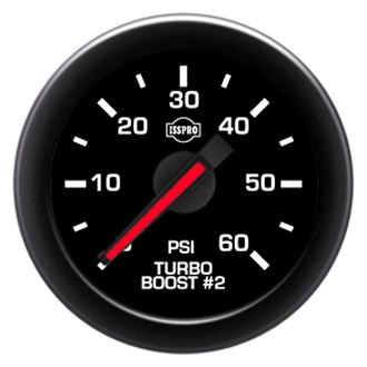 "ISSPRO® - EV2 R32000 Series 2-1/16"" Turbo Boost Gauges"