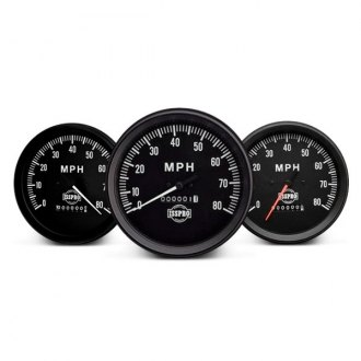 ISSPRO® - Classic In-Dash Black Gauges