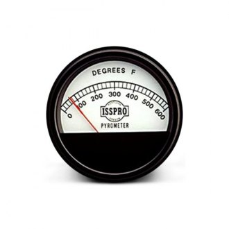 ISSPRO® - Classic In-Dash White Gauges