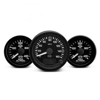 ISSPRO® - Ev™ In-Dash Black Gauges