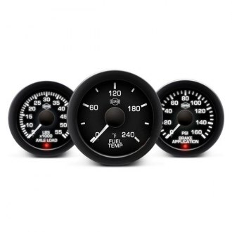ISSPRO® - Ev2™ In-Dash Black Gauges