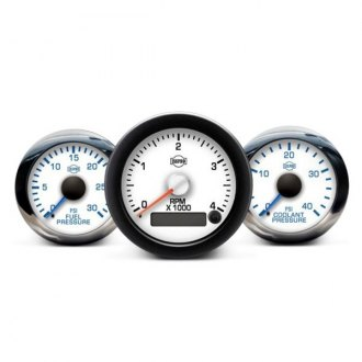 ISSPRO® - Ev2™ In-Dash White Gauges