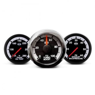 ISSPRO® - Ev2™ In-Dash White/Gray Gauges